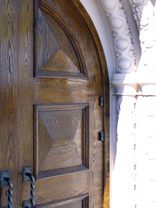 Spanish Revival Doors